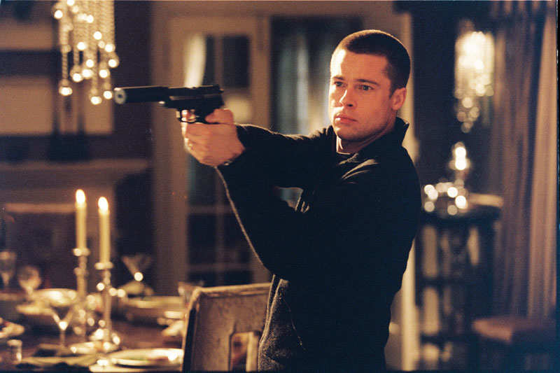 Brad Pitt in Mr. and Mrs. Smith