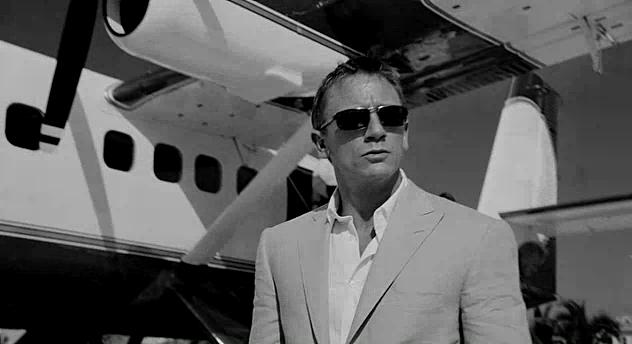 Craig as Bond, James Bond