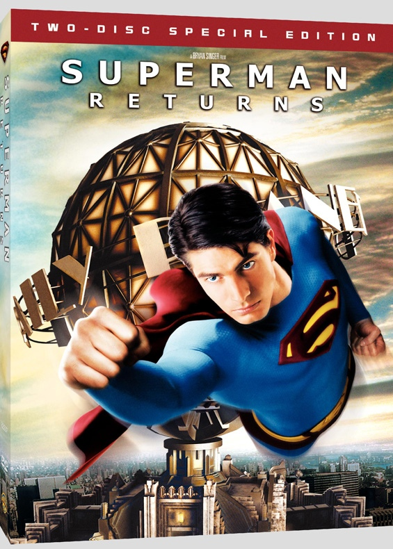 Superman Returns DVD Cover Art